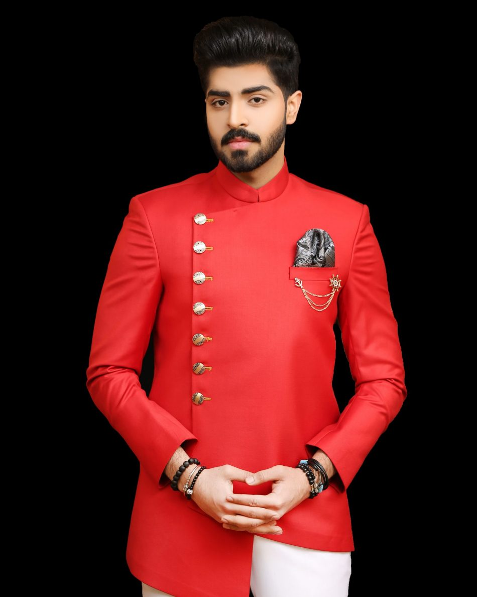Pakistani Style Prince Coat for Men 2021
