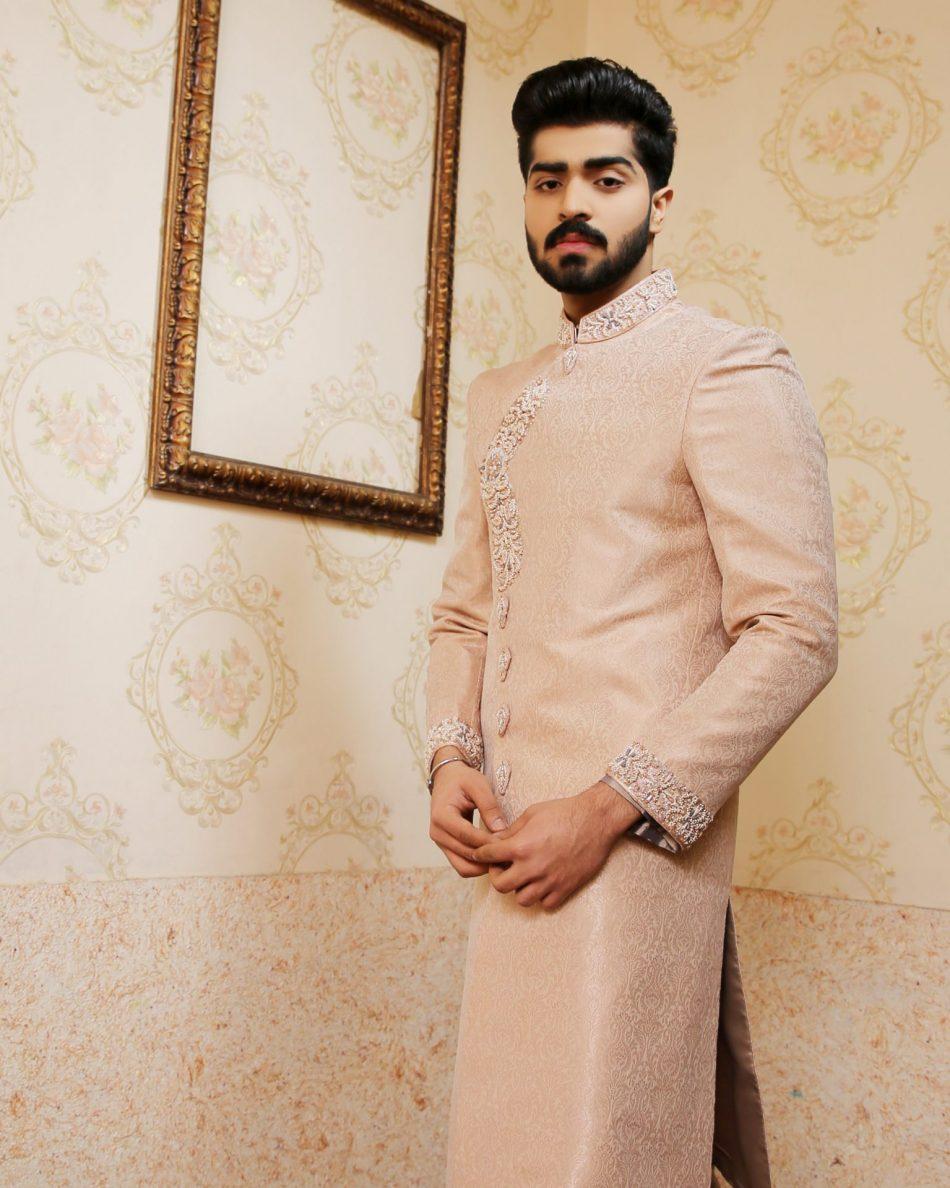 Pakistani Style Sherwani for Men 2021