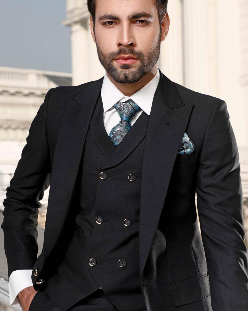 Pant Coat in Black