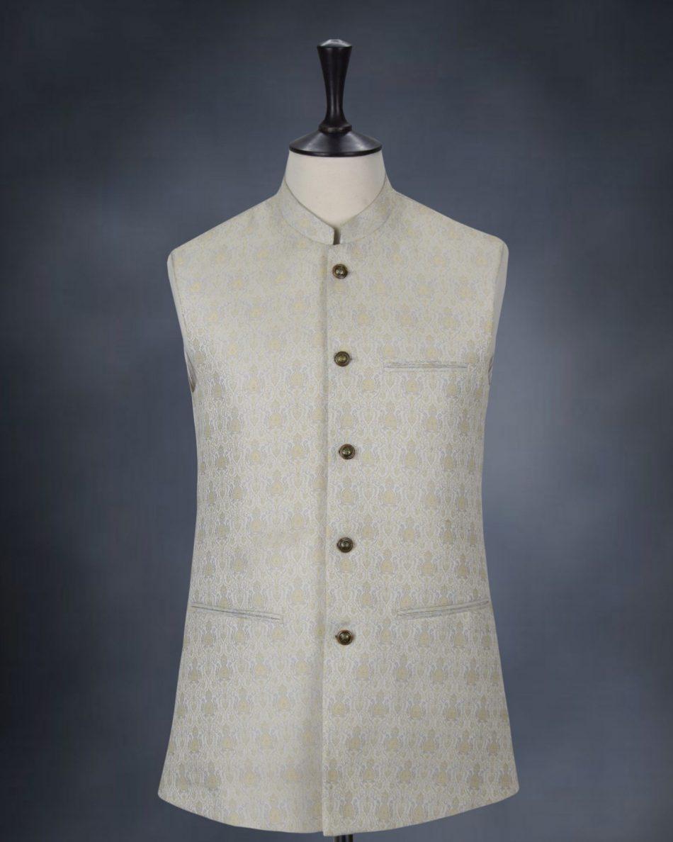 Pakistani Style Waist Coat for Men