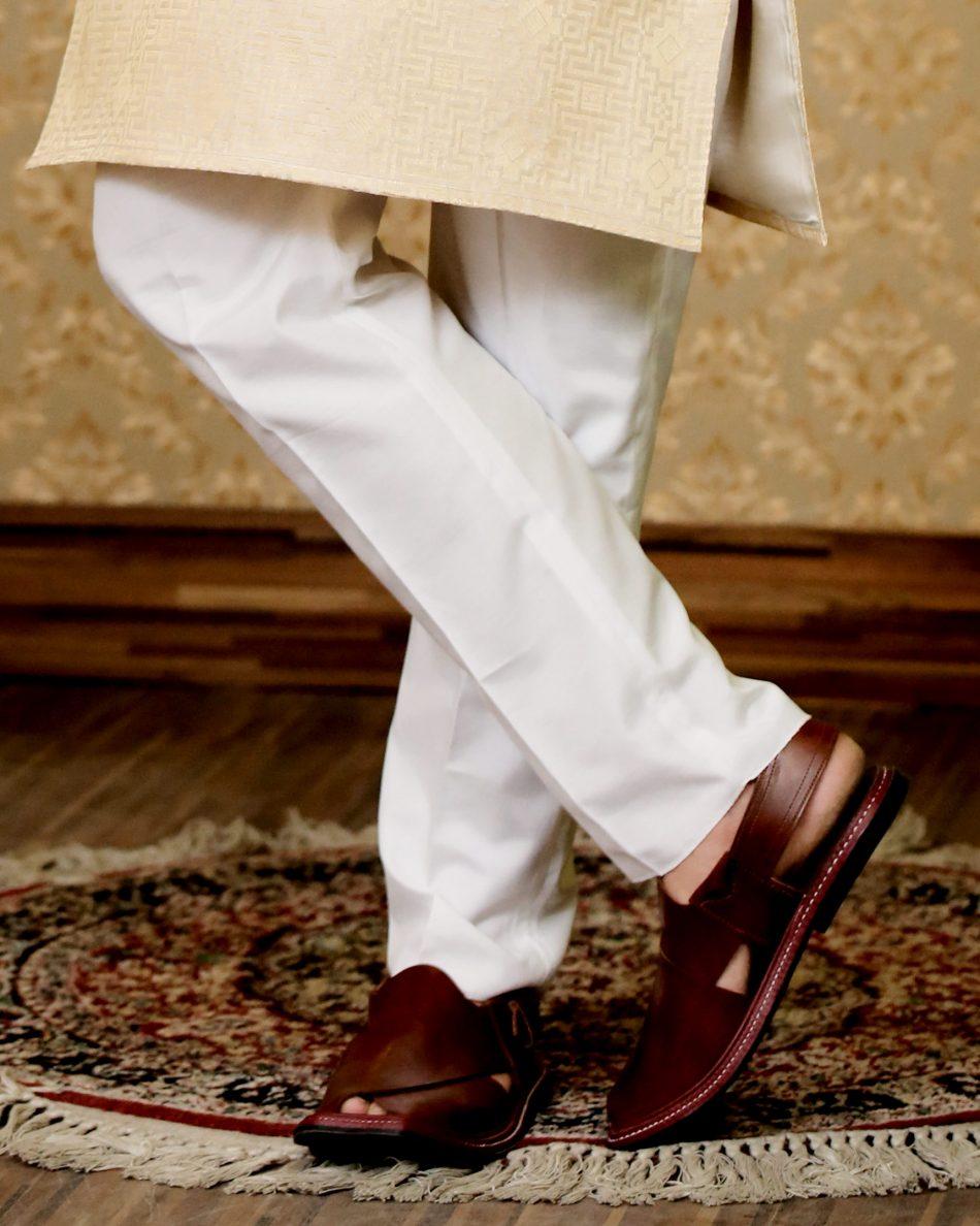 Luxury White Trouser