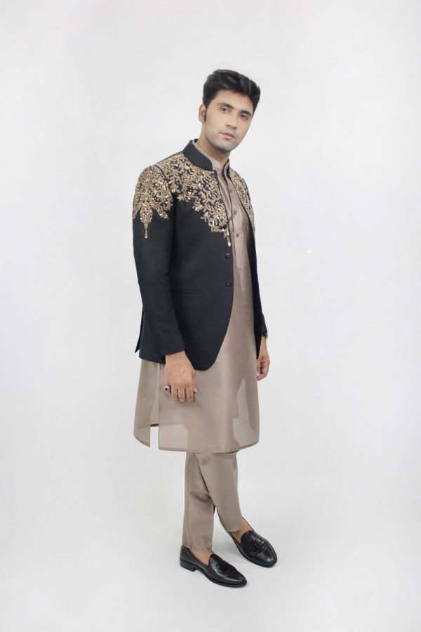 Prince Coat PR00030-BLK